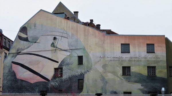 MURAL; RIGA, LATVIA
